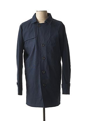 Manteau long bleu SELECTED pour homme