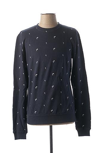 Sweat-shirt bleu CASUAL FRIDAY pour homme
