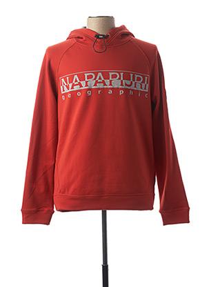 Sweat-shirt rouge NAPAPIJRI pour homme