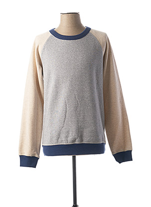 Sweat-shirt beige SELECTED pour homme