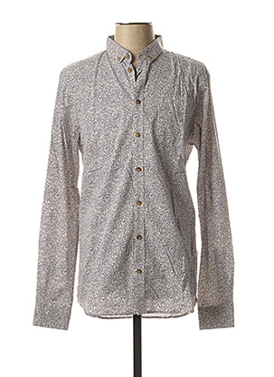 Chemise manches longues blanc CASUAL FRIDAY pour homme