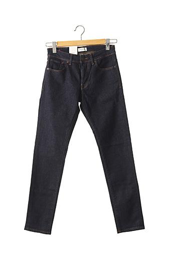 Jeans coupe droite bleu SELECTED pour homme