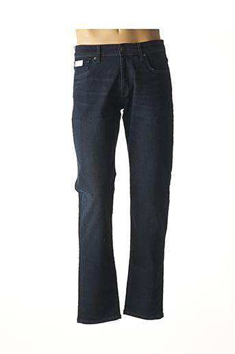 Jeans coupe slim bleu SELECTED pour homme