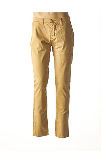 Pantalon casual beige FRIDAY pour homme