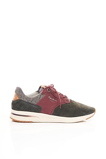 Baskets rouge PEPE JEANS pour homme