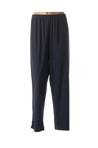 Pantalon casual bleu FRANCK ANNA pour femme