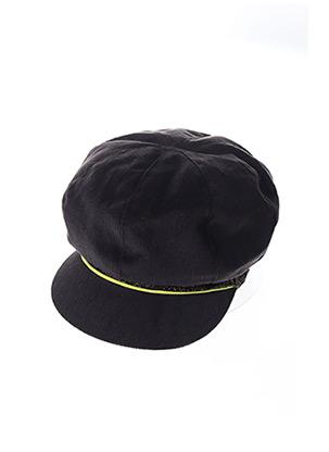 Casquette noir MTM pour femme