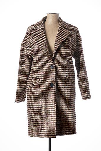 Manteau long bleu HARRIS WILSON pour femme