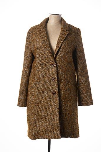 Manteau long jaune HARRIS WILSON pour femme