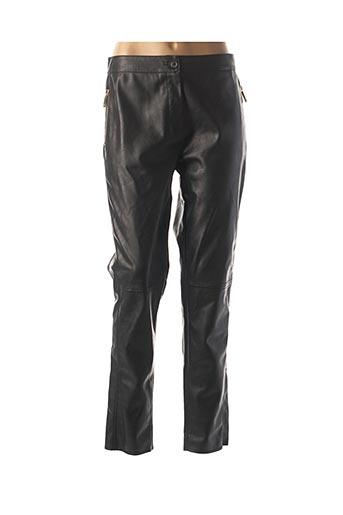 Pantalon casual noir TRUSSARDI JEANS pour femme