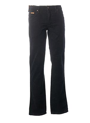 Pantalon casual bleu WRANGLER pour homme