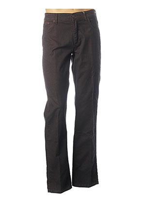 Pantalon casual marron WRANGLER pour homme