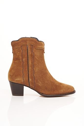Bottines/Boots marron BENSIMON pour femme