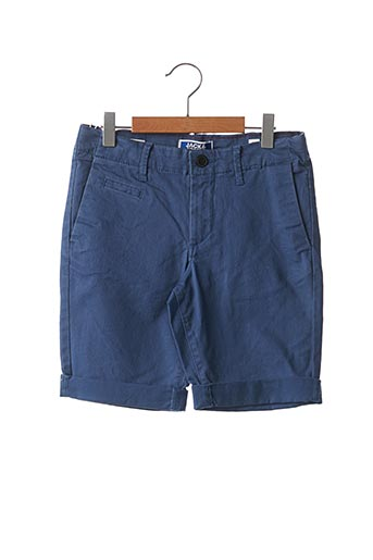 Short bleu JACK & JONES pour garçon