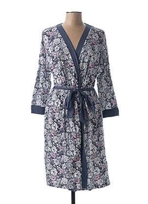 Robe de chambre bleu SENORETTA pour femme