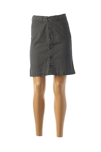 Jupe courte gris KANOPE pour femme
