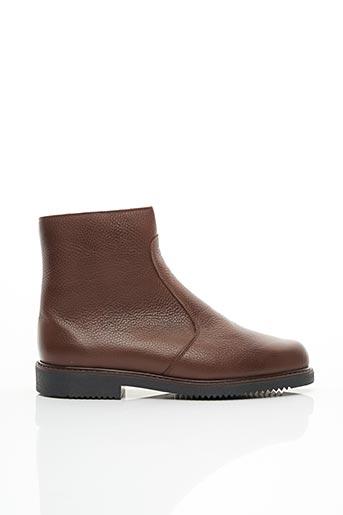 Bottines/Boots marron EDITO pour homme
