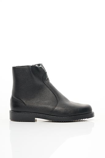 Bottines/Boots noir EDITO pour homme