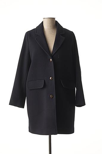 Manteau long bleu DES PETITS HAUTS pour femme