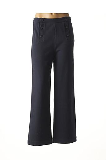 Pantalon casual bleu DES PETITS HAUTS pour femme