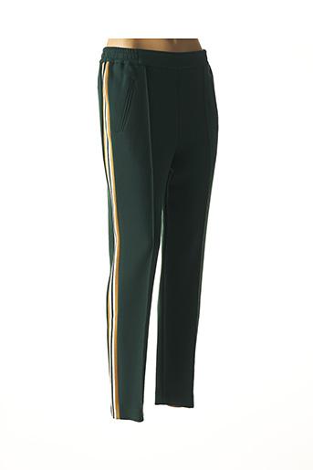 Pantalon casual vert BENSIMON pour femme