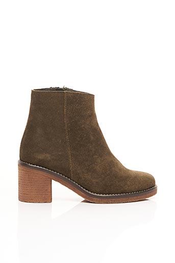 Bottines/Boots vert BENSIMON pour femme