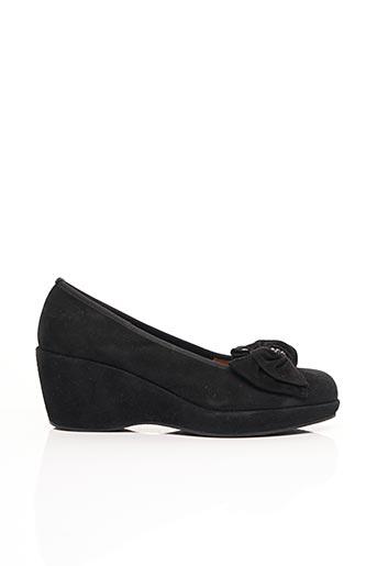 Sandales/Nu pieds noir ACCESSOIRE DÉTENTE pour femme