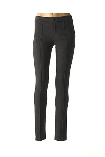 Pantalon casual gris JAVIER SIMORRA pour femme