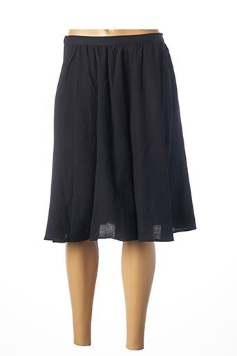 Jupe mi-longue bleu AMERICAN VINTAGE pour femme