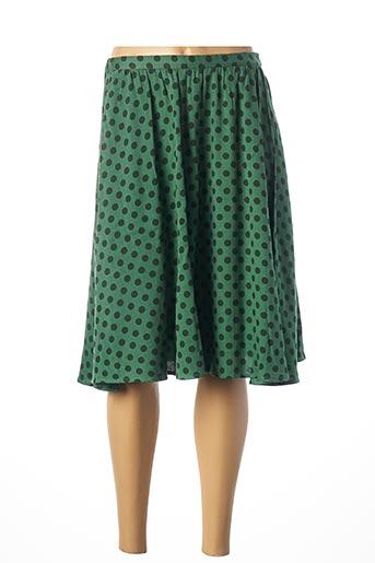 Jupe mi-longue vert AMERICAN VINTAGE pour femme