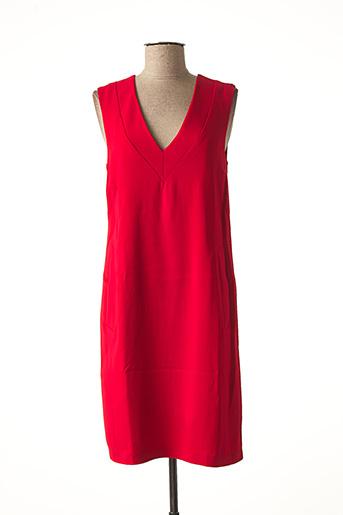 Robe mi-longue rouge BEATRICE.B pour femme
