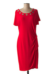 Robe mi-longue rouge JOSEPH RIBKOFF pour femme seconde vue