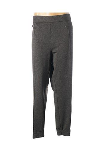 Pantalon casual gris QUATTRO pour femme