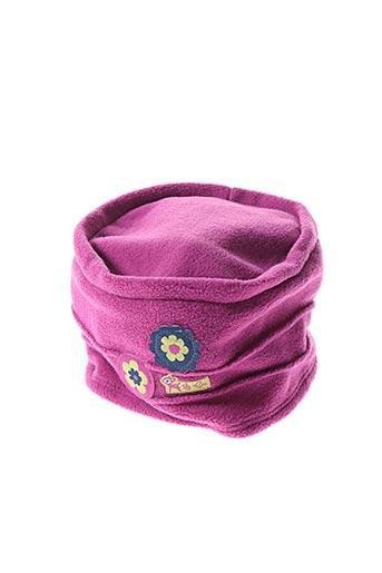 Bonnet violet LA COMPAGNIE DES PETITS pour fille