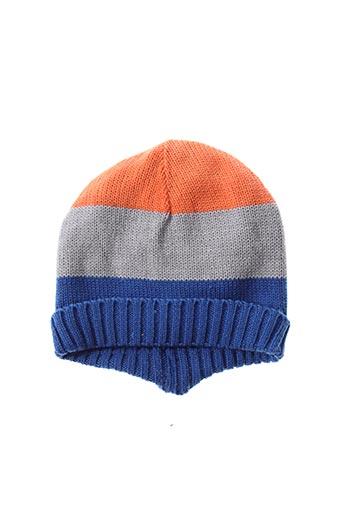 Bonnet orange GRAIN DE BLÉ pour garçon
