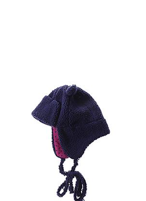 Bonnet bleu LA COMPAGNIE DES PETITS pour fille