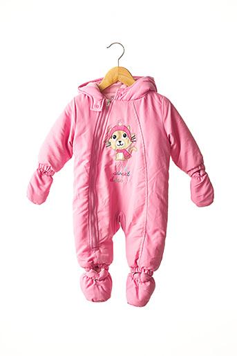 Combi-pantalon rose PIK OUIC pour fille