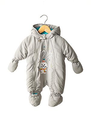 Combi-pantalon gris PIK OUIC pour enfant