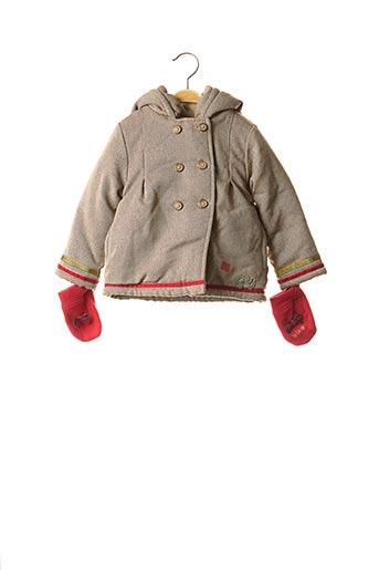 Manteau long beige LA COMPAGNIE DES PETITS pour fille