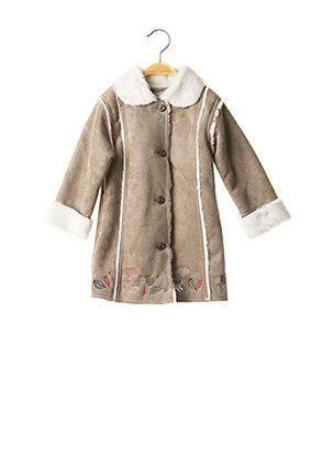 Manteau long gris LA COMPAGNIE DES PETITS pour fille