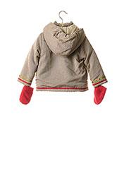 Manteau long beige LA COMPAGNIE DES PETITS pour fille seconde vue