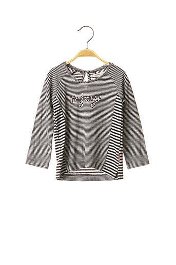 T-shirt manches longues noir NOPPIES pour fille