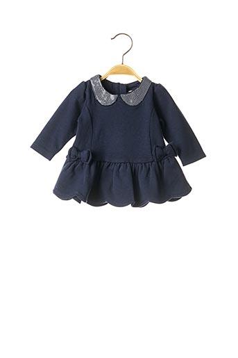 Robe mi-longue bleu KANZ pour fille