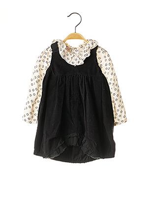 Top/robe noir GOCCO pour fille