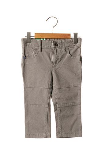 Jeans coupe droite gris BENETTON pour enfant