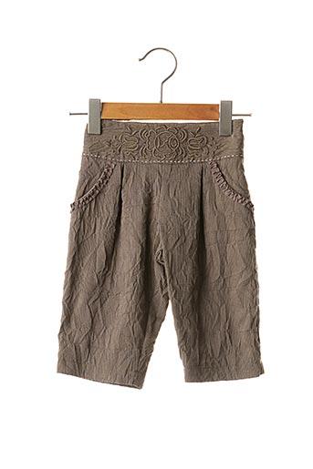 Pantalon casual marron CONFETTI pour fille