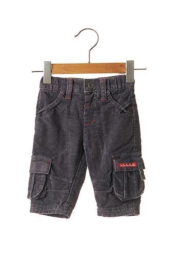 Pantalon casual gris LA COMPAGNIE DES PETITS pour garçon