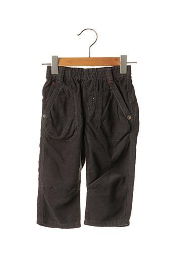 Pantalon casual noir JEAN BOURGET pour garçon