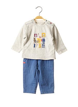 Pull/pantalon orange ABSORBA pour garçon