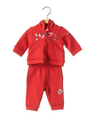 Survêtement rouge 3 POMMES pour enfant